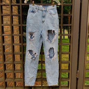 NWT BDG Distressed Blue Jeans